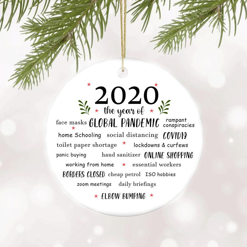 2020 The Year Of Ornament Quarantine Christmas No19 Personalized Gifts