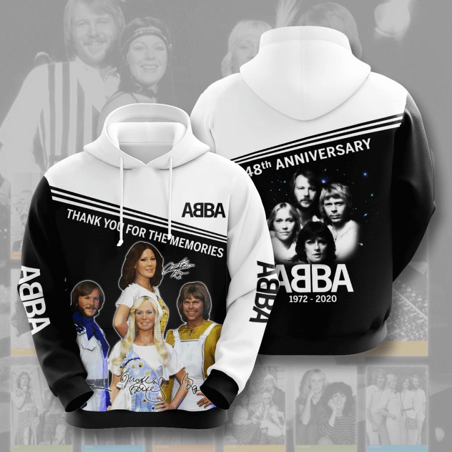 Abba No16 Custom Hoodie 3D