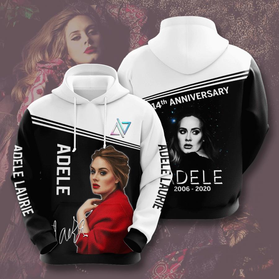 Adele No18 Custom Hoodie 3D