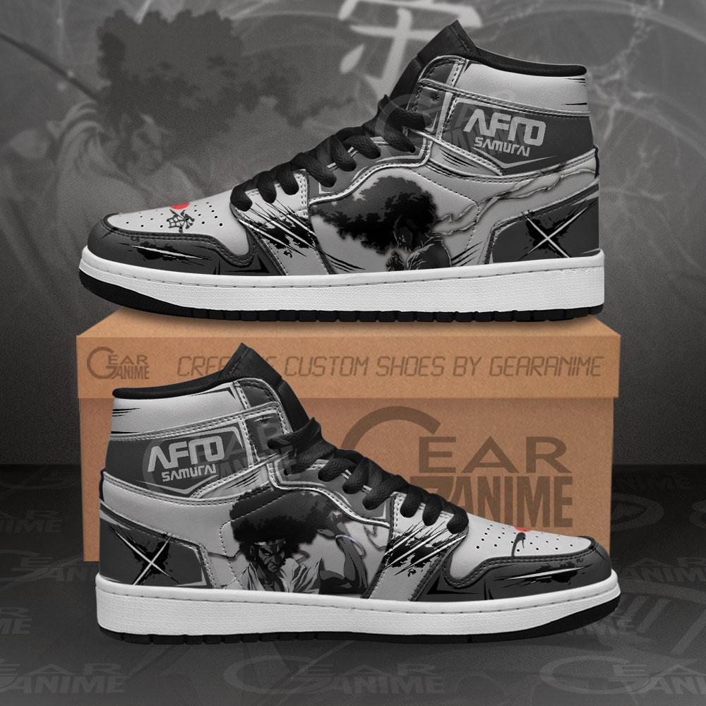 Afro Samurai Sneakers Custom Anime Air Jordan Shoes
