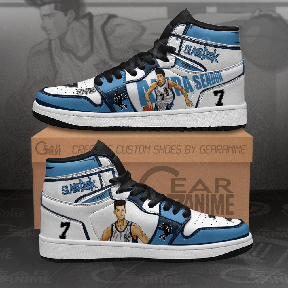Akira Sendoh Sneakers Slam Dunk Anime Air Jordan Shoes