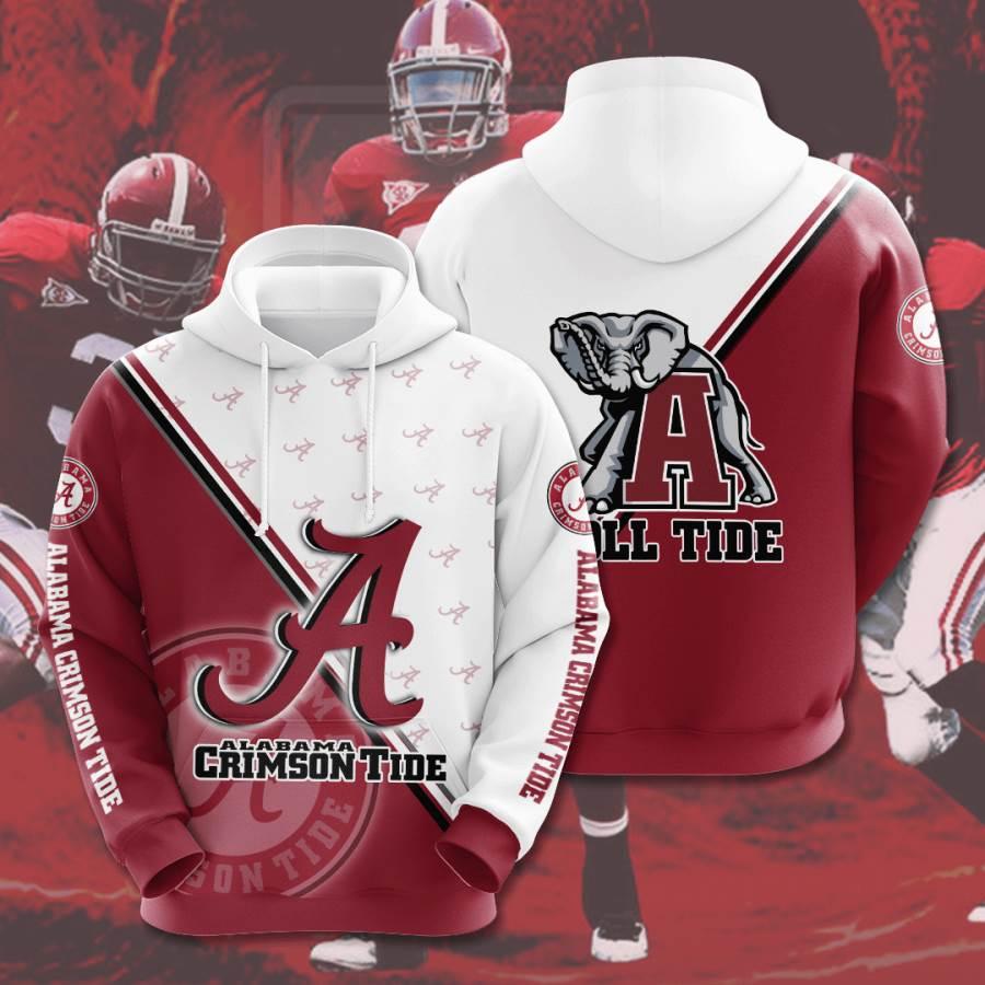 Alabama Crimson Tide No27 Custom Hoodie 3D