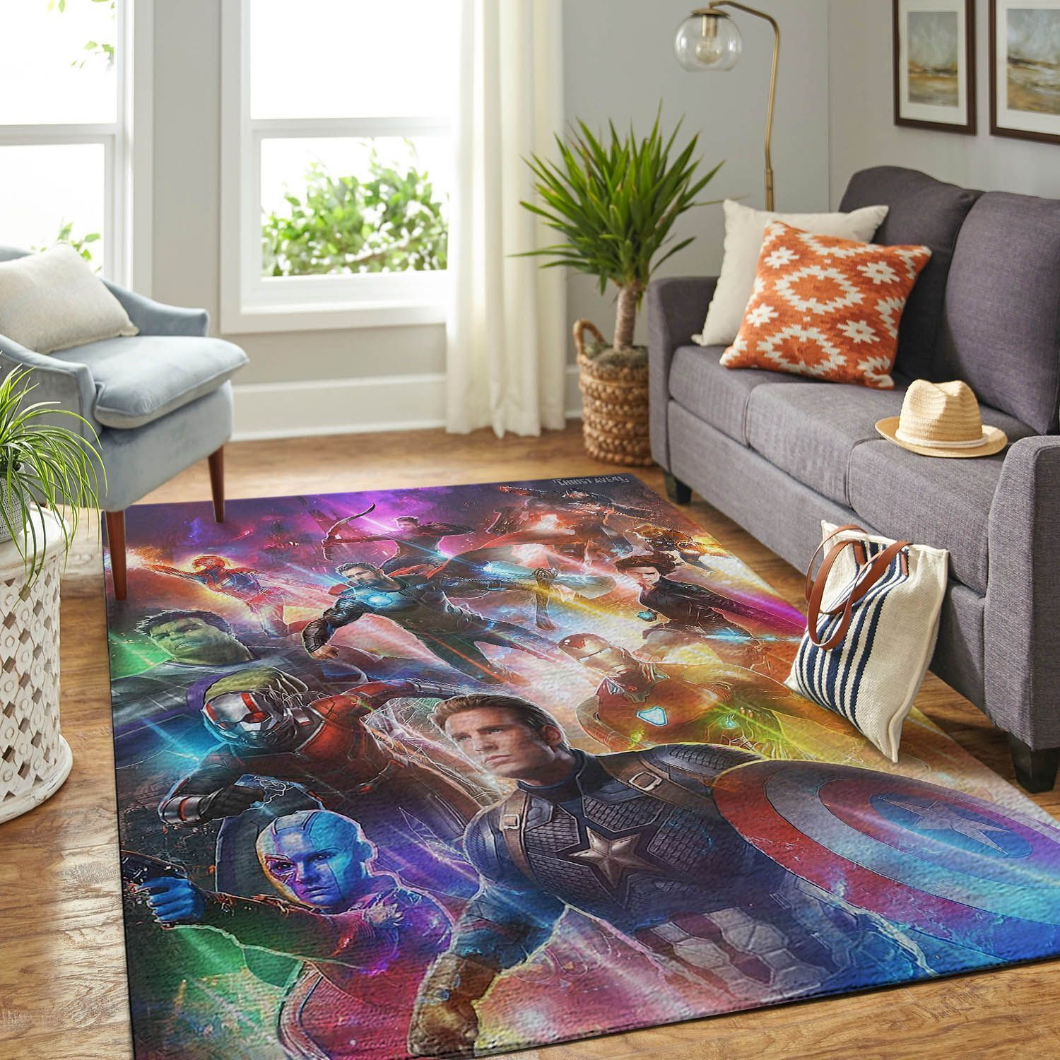 Amazon Avenger Endgame Living Room Area No5638 Rug