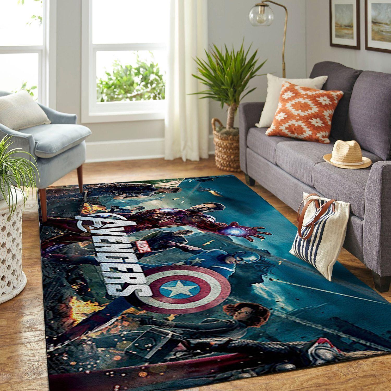 Amazon Avengers Living Room Area No5678 Rug