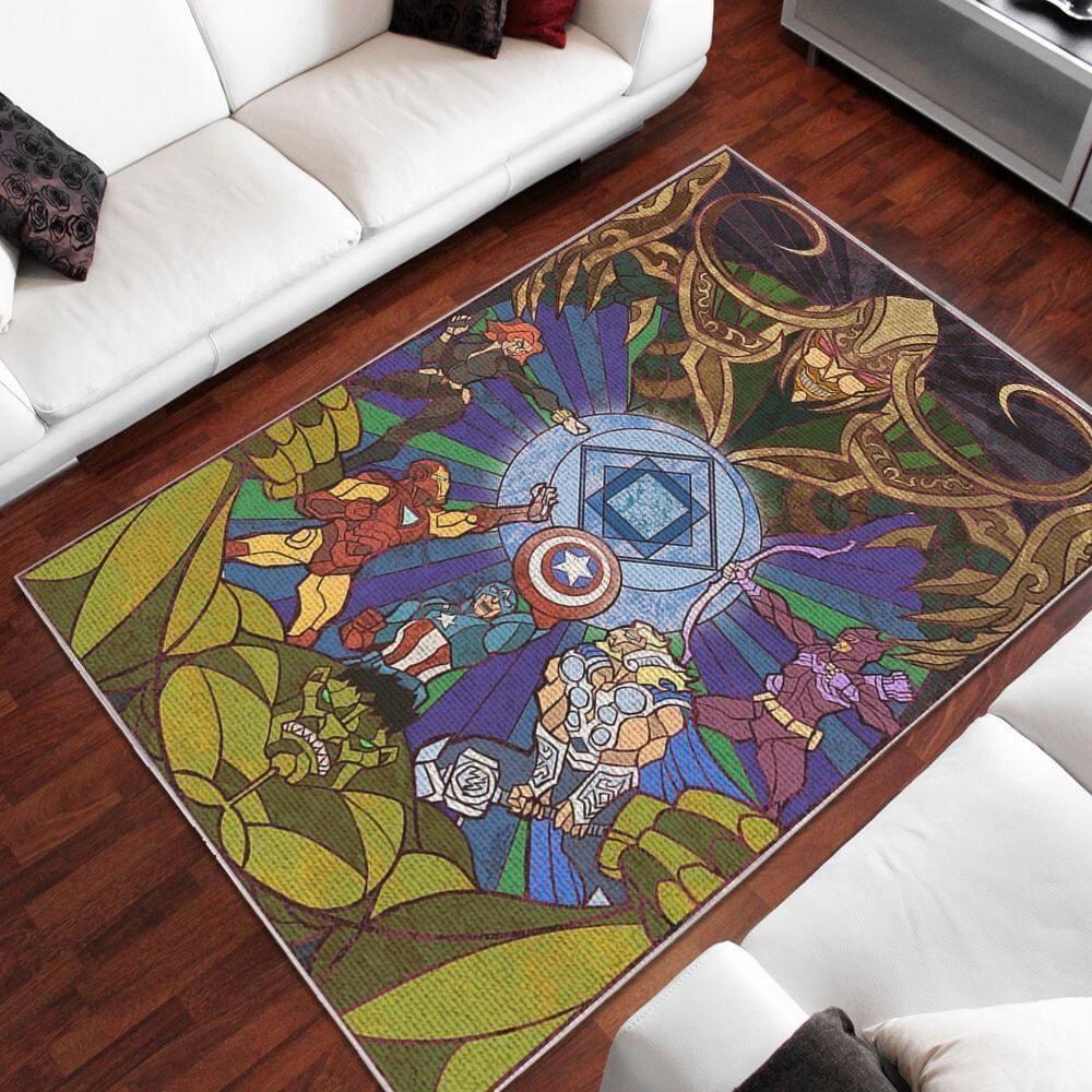 Amazon Avengers Living Room Area No5680 Rug