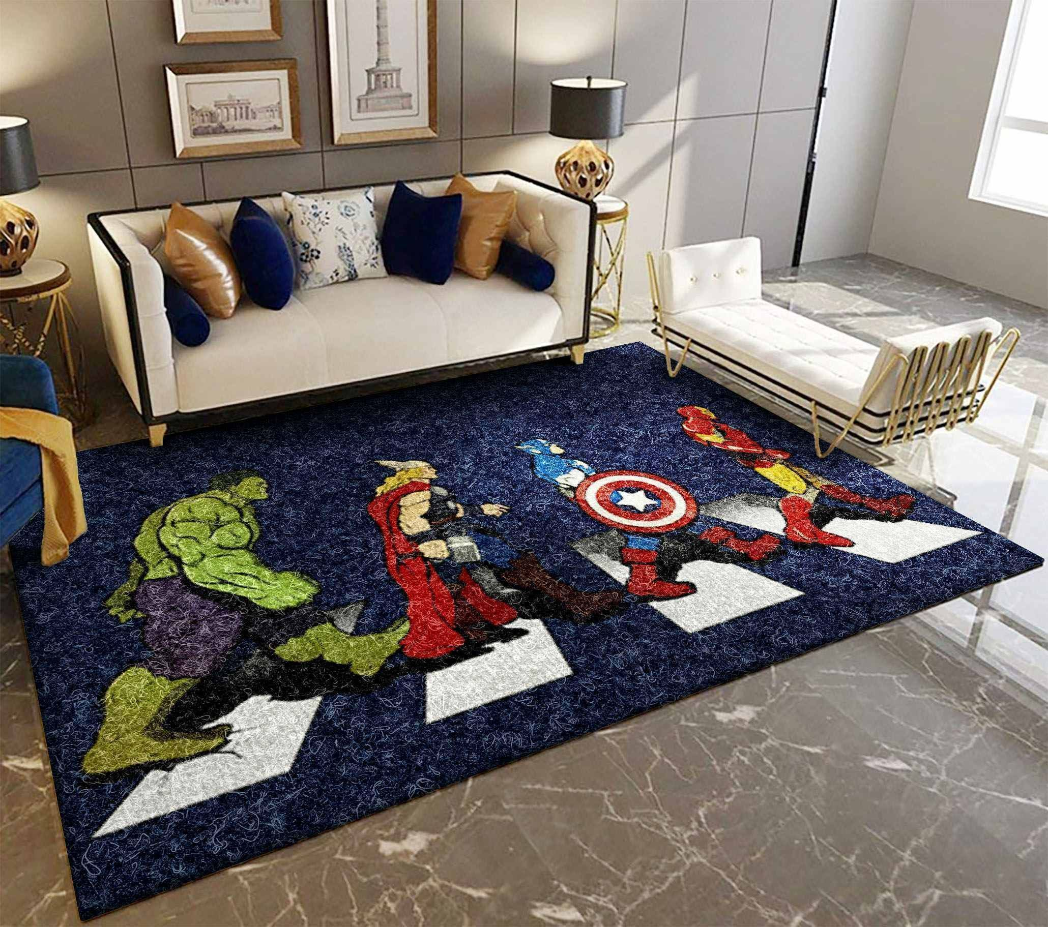 Amazon Avengers Living Room Area No5681 Rug