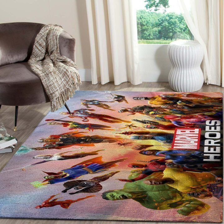 Amazon Avengers Living Room Area No5682 Rug