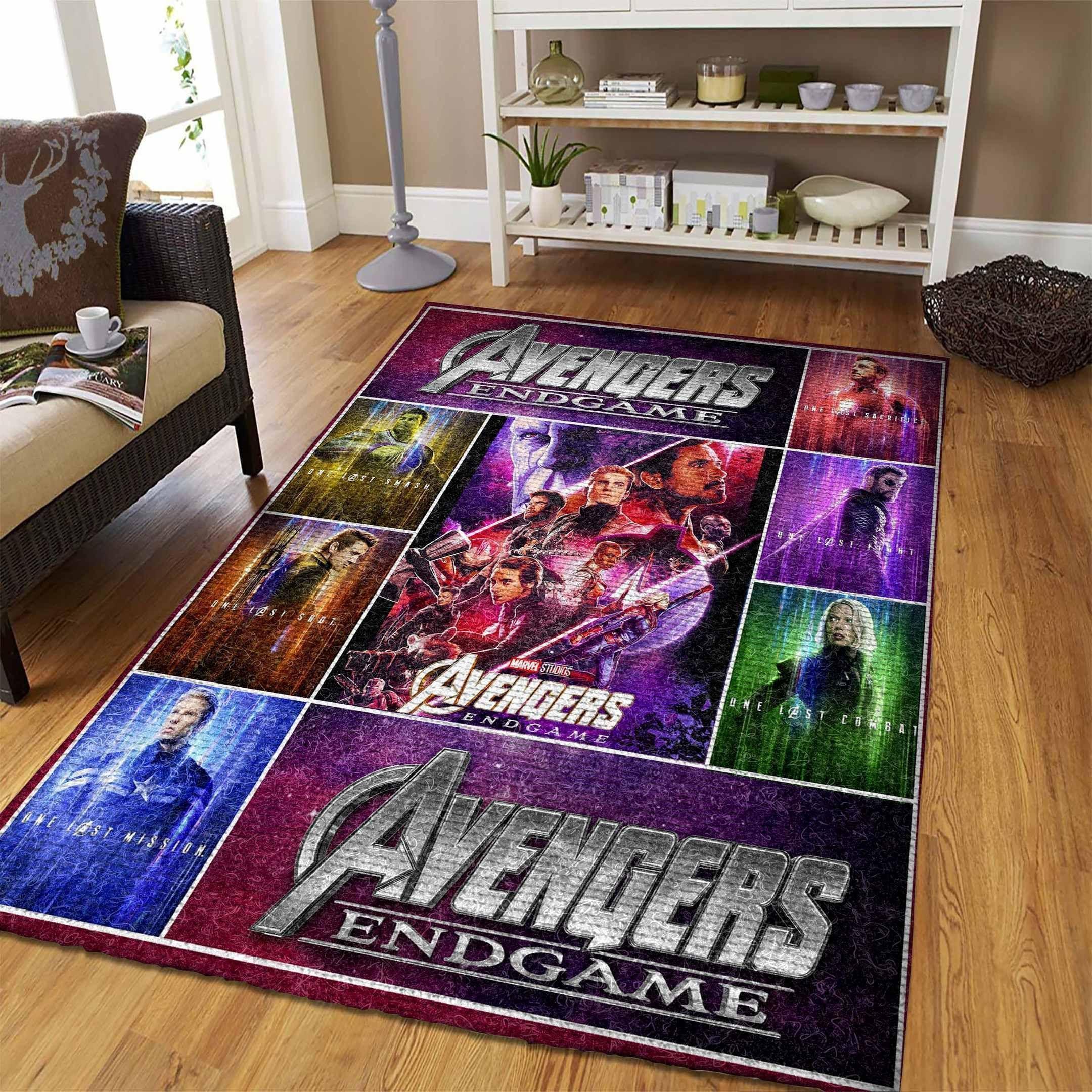 Amazon Avengers Living Room Area No5683 Rug