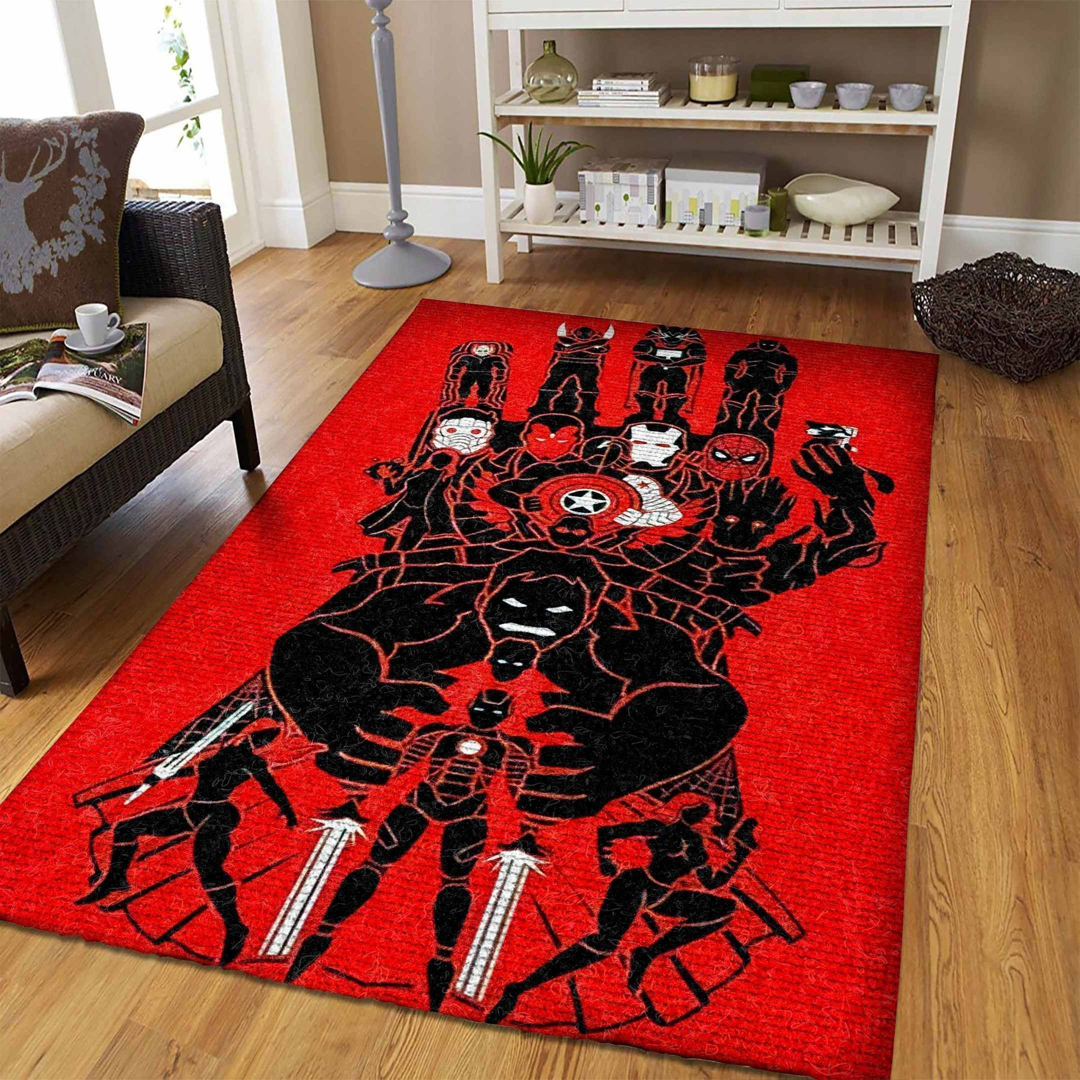 Amazon Avengers Living Room Area No5684 Rug