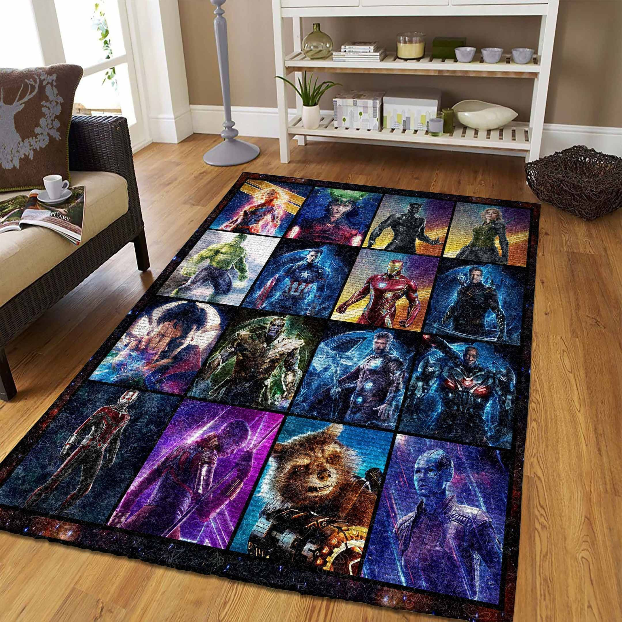 Amazon Avengers Living Room Area No5690 Rug