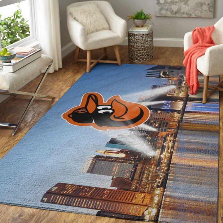 Amazon Baltimore Orioles Living Room Area No2135 Rug