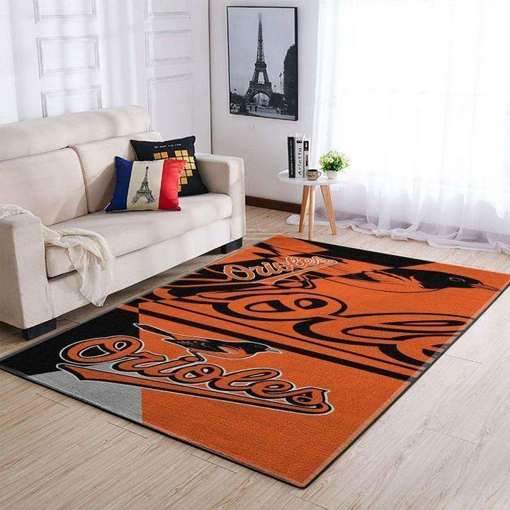Amazon Baltimore Orioles Living Room Area No2144 Rug