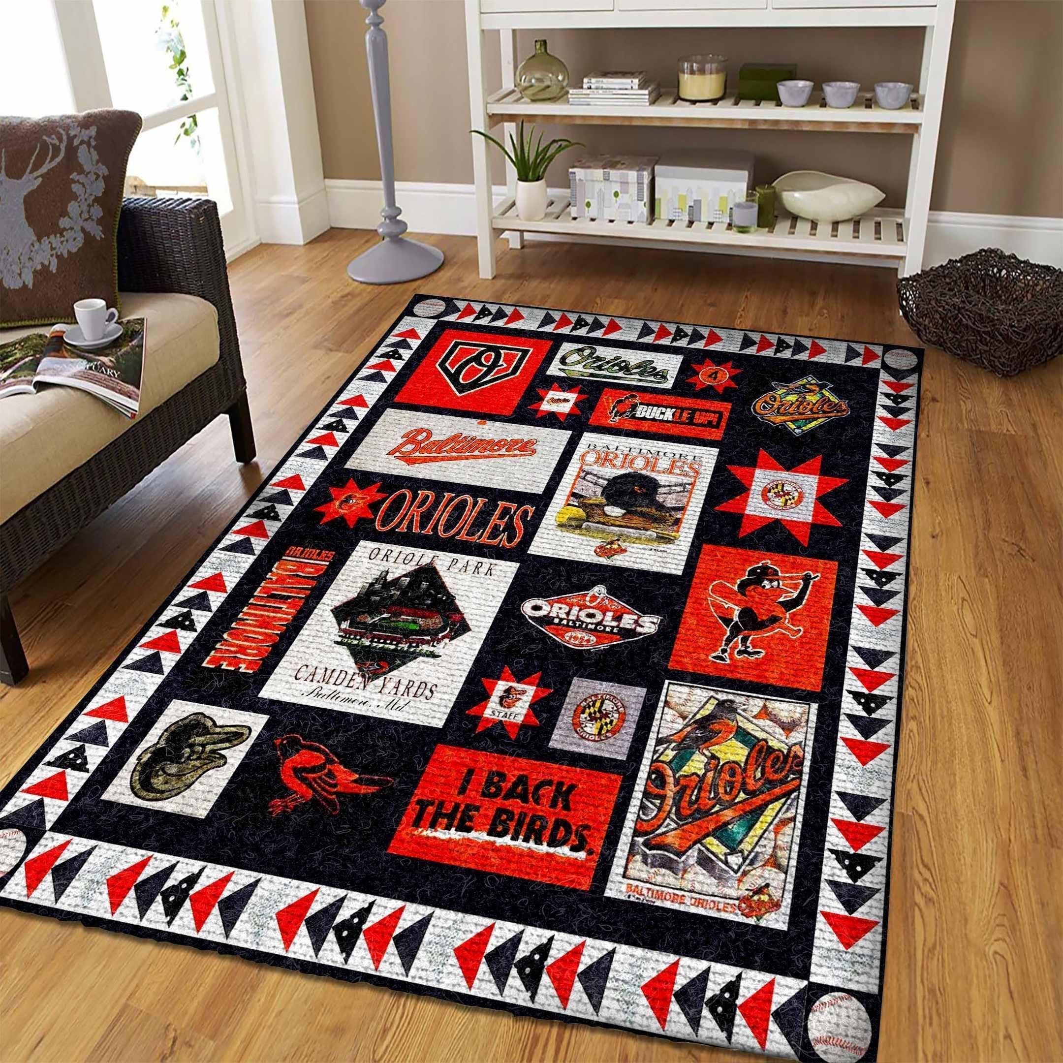 Amazon Baltimore Orioles Living Room Area No2145 Rug