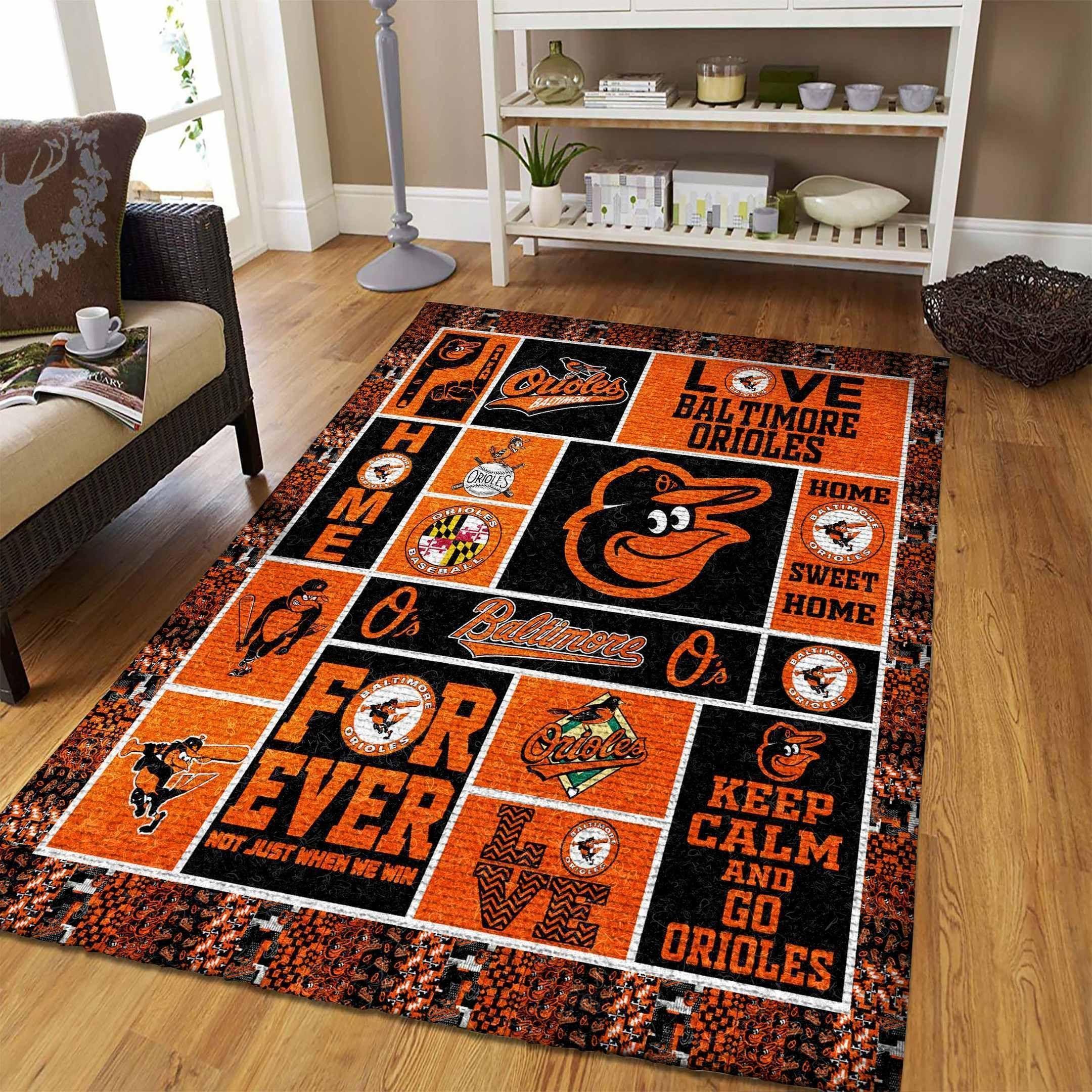 Amazon Baltimore Orioles Living Room Area No2148 Rug