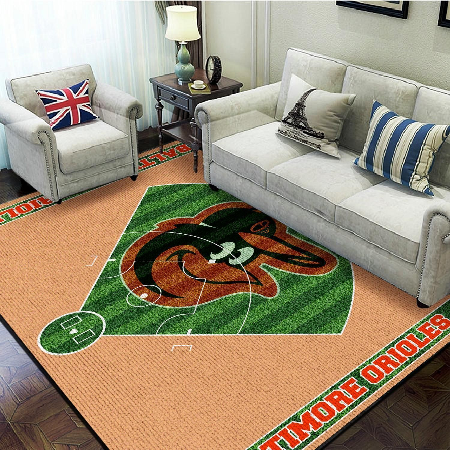 Amazon Baltimore Orioles Living Room Area No2149 Rug