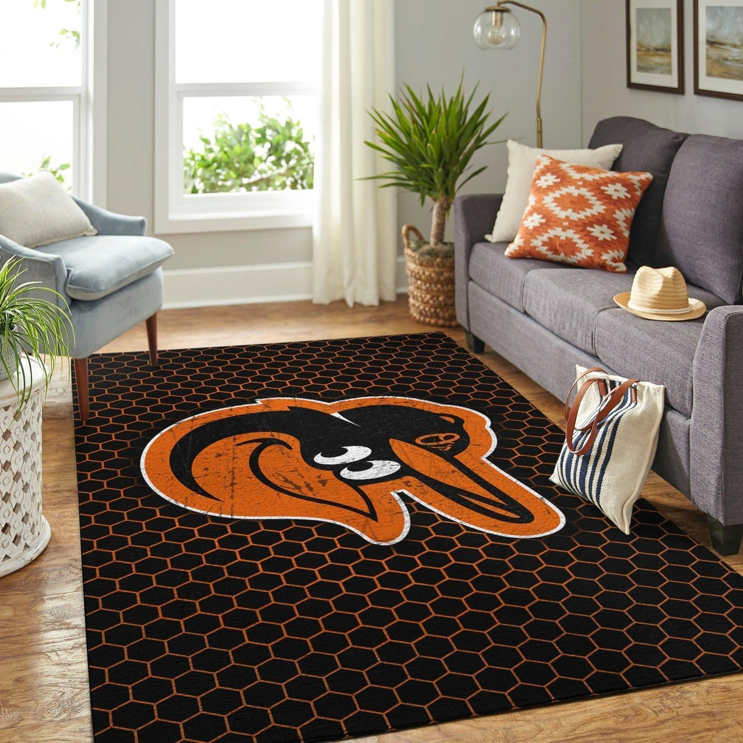 Amazon Baltimore Orioles Living Room Area No3444 Rug