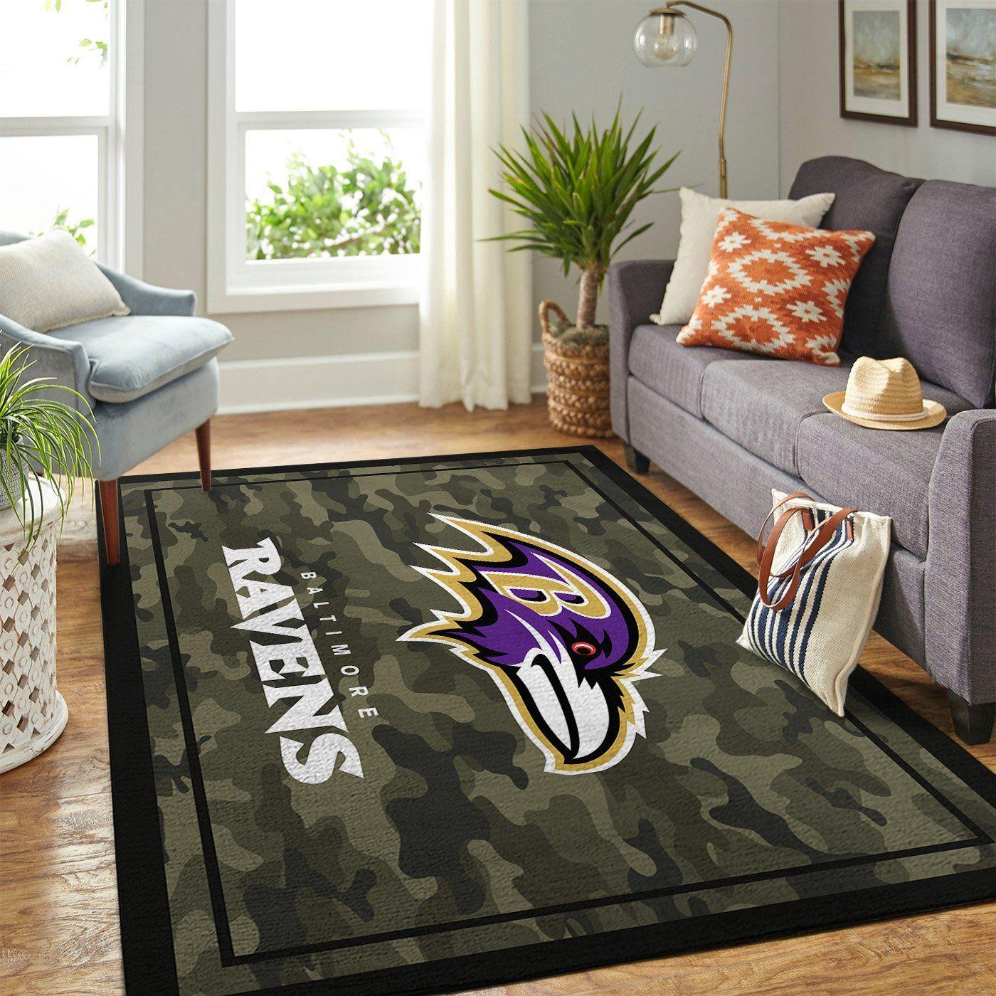 Amazon Baltimore Ravens Living Room Area No2153 Rug