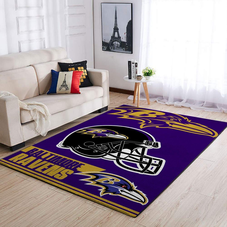 Amazon Baltimore Ravens Living Room Area No2155 Rug