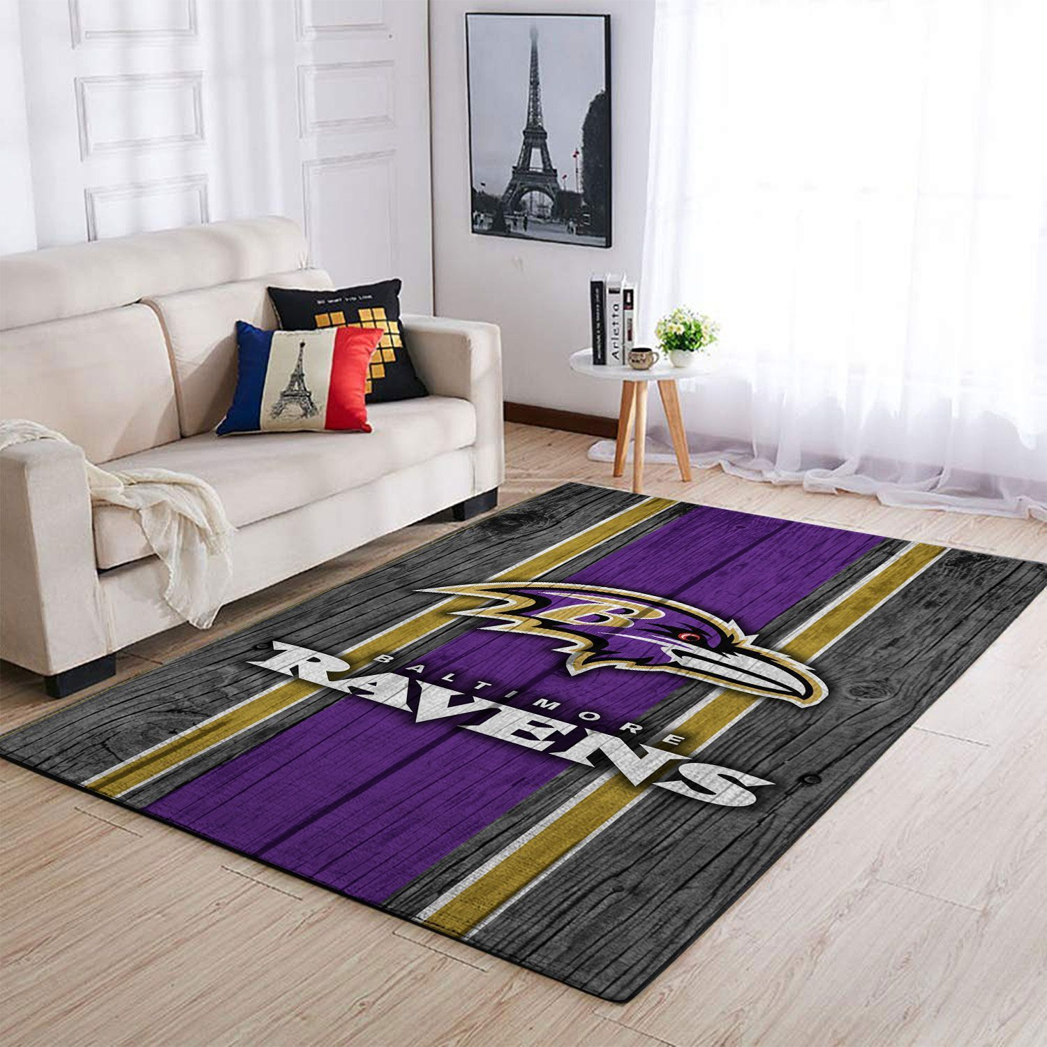 Amazon Baltimore Ravens Living Room Area No2164 Rug