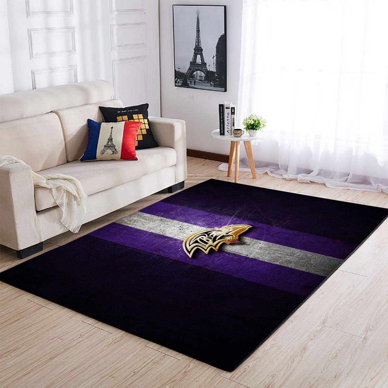 Amazon Baltimore Ravens Living Room Area No2169 Rug