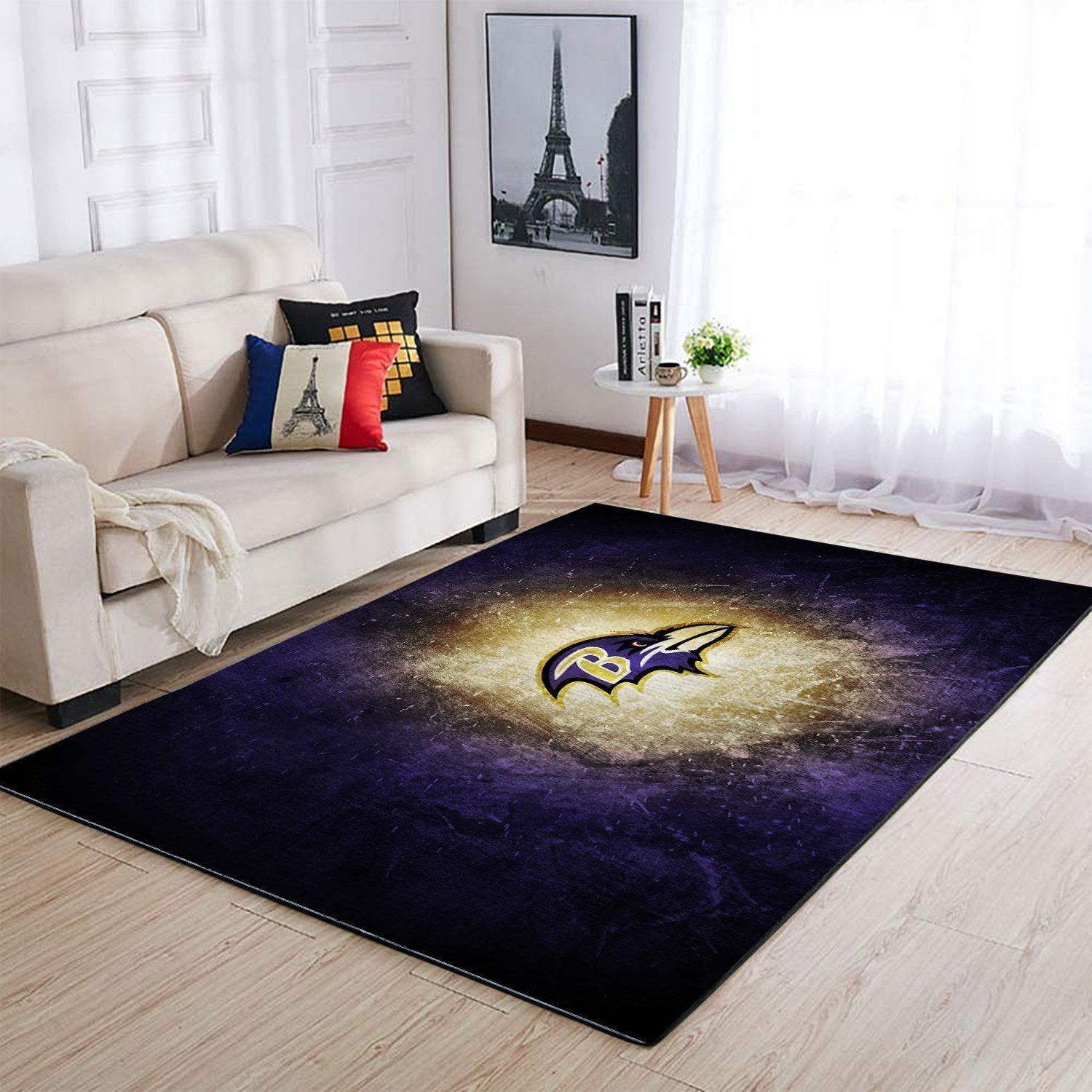 Amazon Baltimore Ravens Living Room Area No2170 Rug