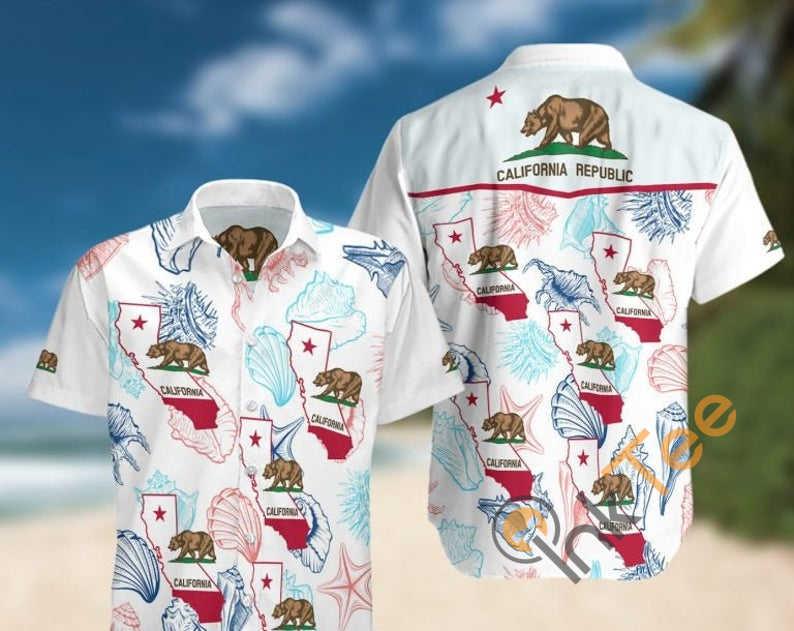 Amazon Best Selling California Hawaiian shirts