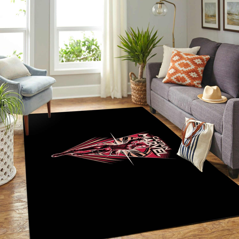 Amazon Captain Marvel Living Room Area No5785 Rug