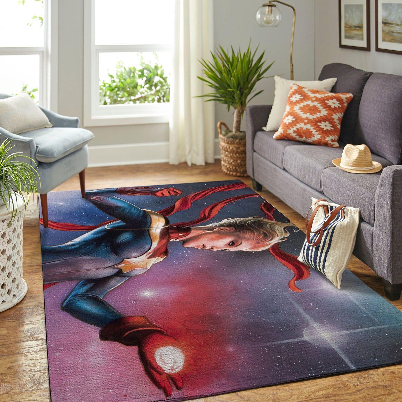 Amazon Captain Marvel Living Room Area No5787 Rug