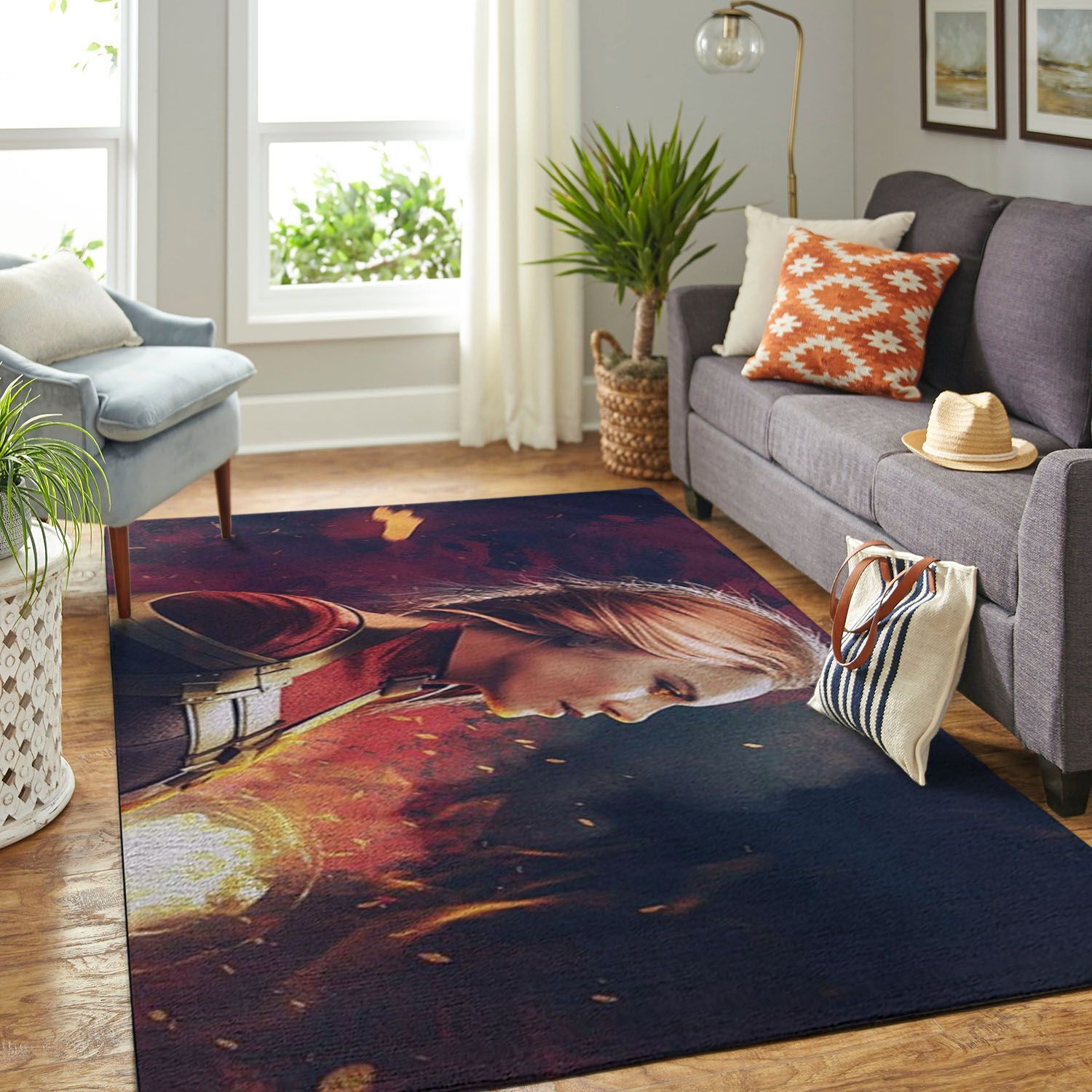 Amazon Captain Marvel Living Room Area No5788 Rug