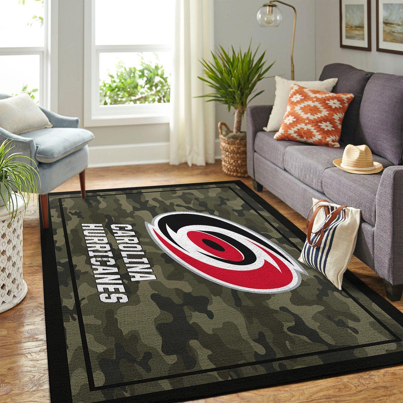 Amazon Carolina Hurricanes Living Room Area No2360 Rug