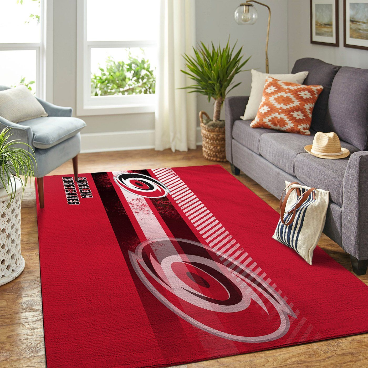 Amazon Carolina Hurricanes Living Room Area No2364 Rug