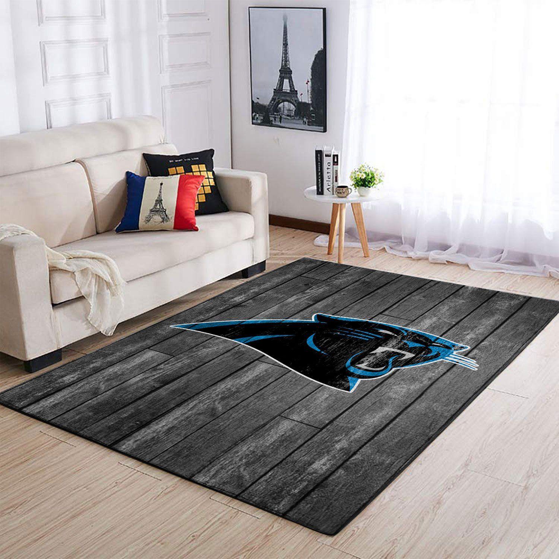 Amazon Carolina Panthers Living Room Area No2371 Rug
