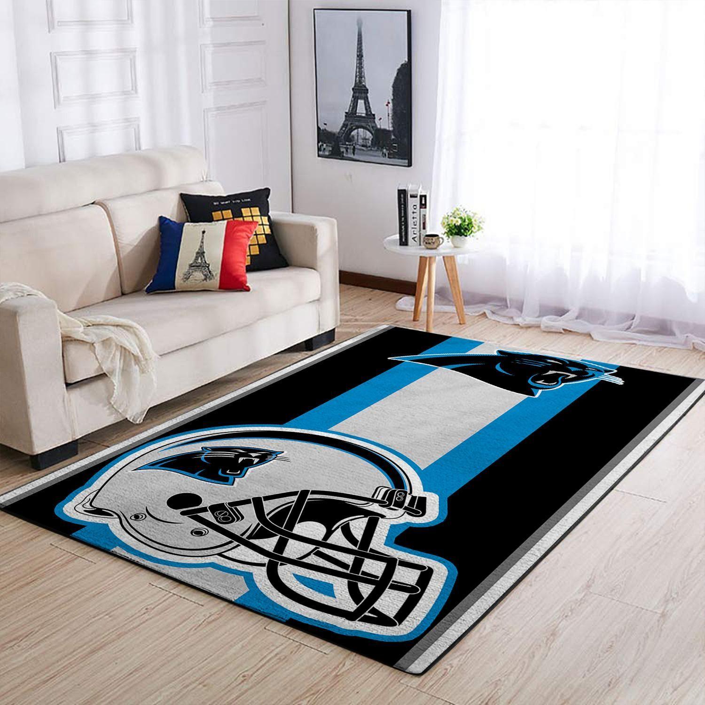 Amazon Carolina Panthers Living Room Area No2374 Rug