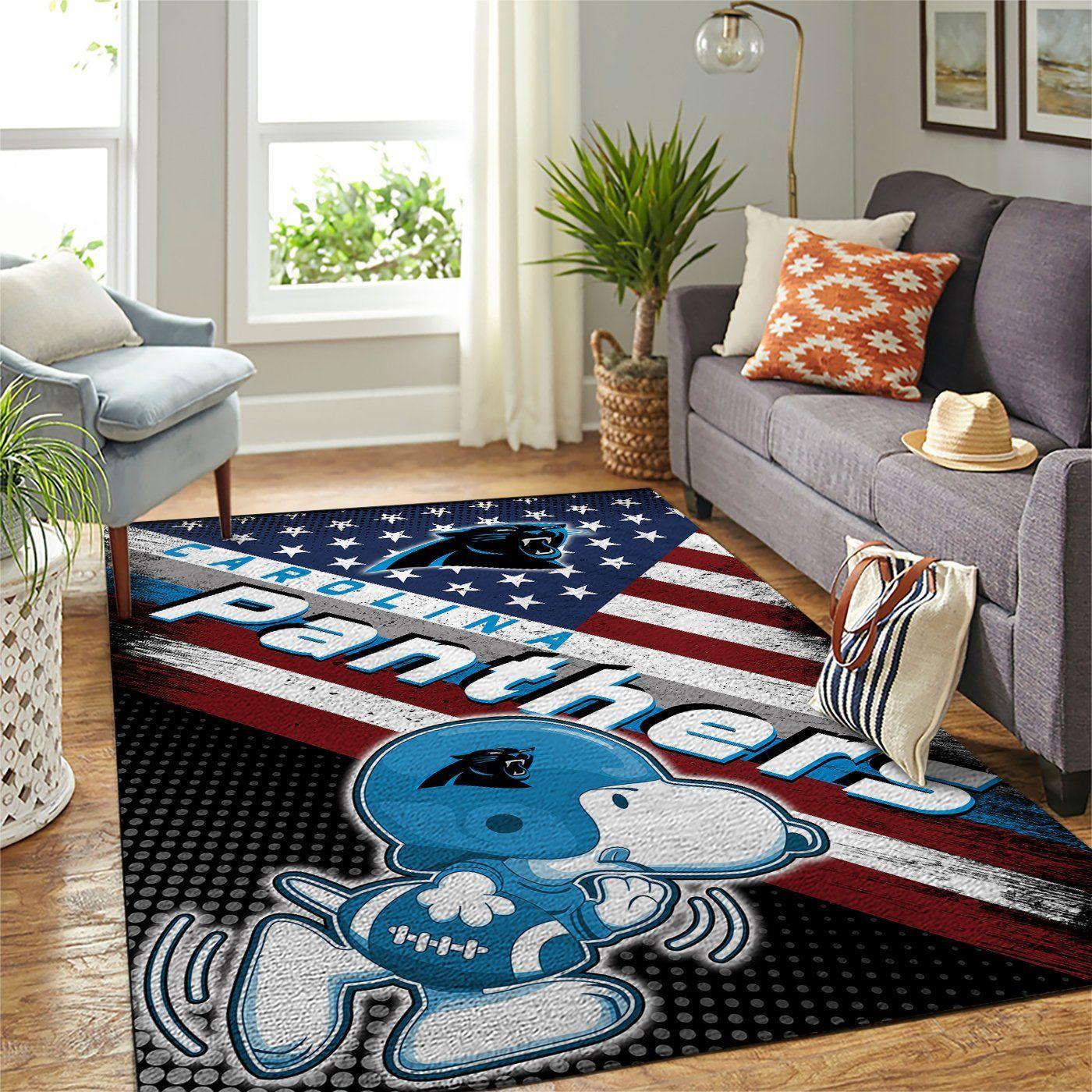 Amazon Carolina Panthers Living Room Area No2380 Rug