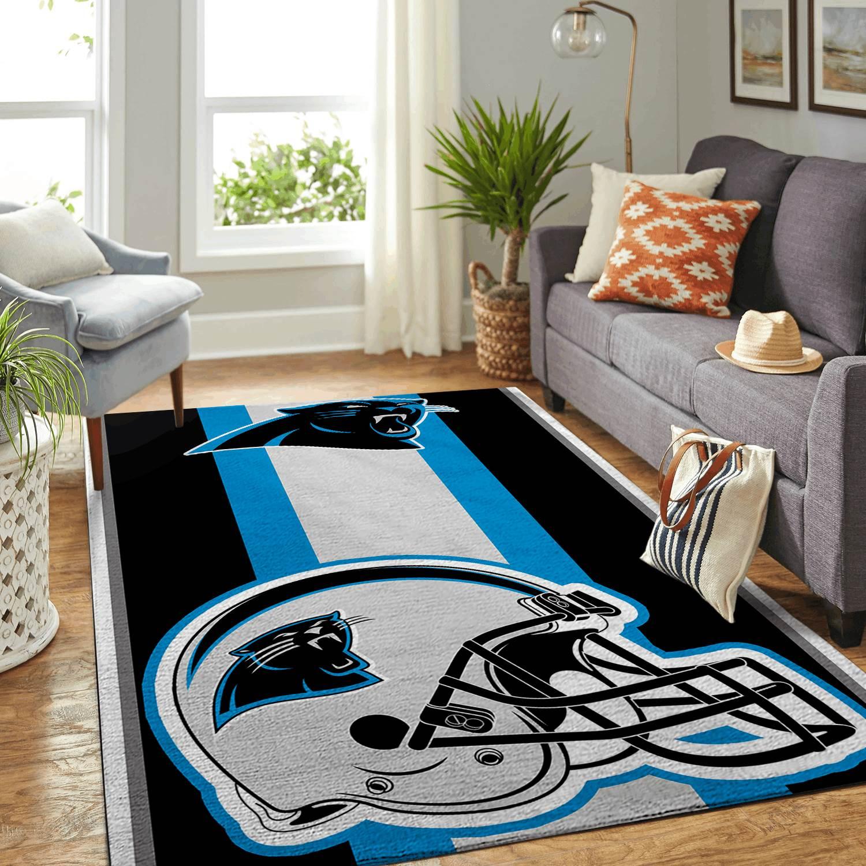 Amazon Carolina Panthers Living Room Area No2386 Rug