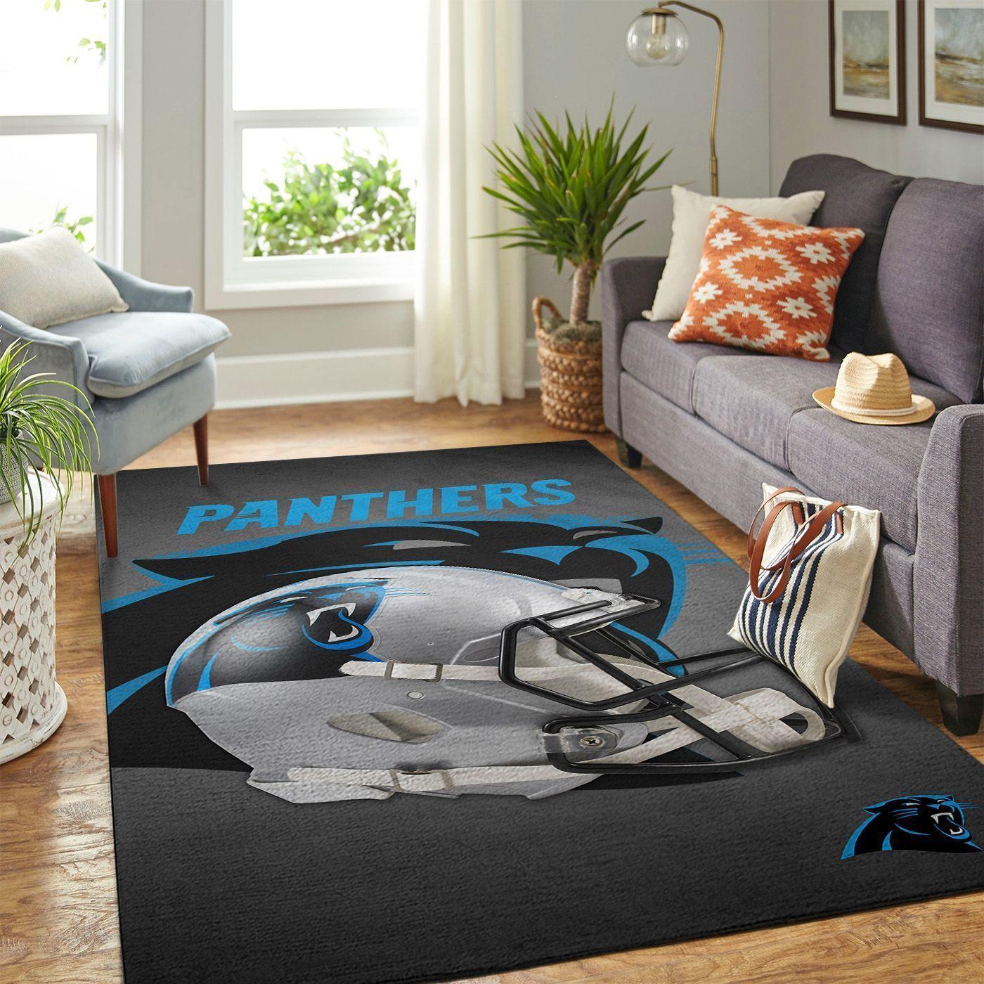 Amazon Carolina Panthers Living Room Area No2387 Rug