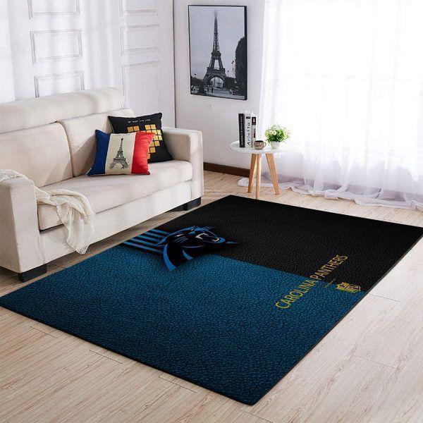 Amazon Carolina Panthers Living Room Area No2388 Rug