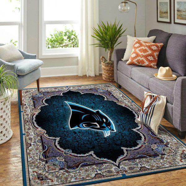 Amazon Carolina Panthers Living Room Area No2393 Rug