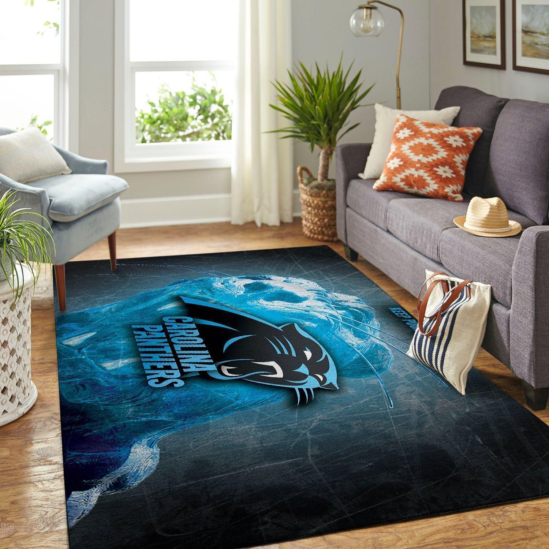 Amazon Carolina Panthers Living Room Area No2400 Rug