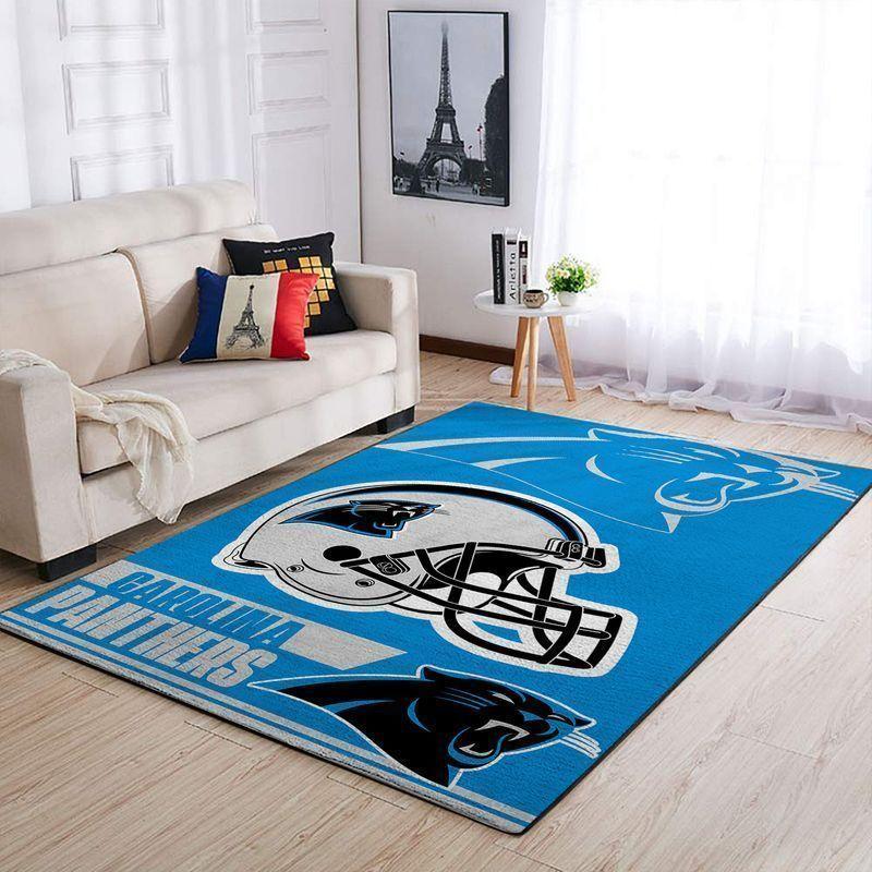 Amazon Carolina Panthers Living Room Area No2402 Rug