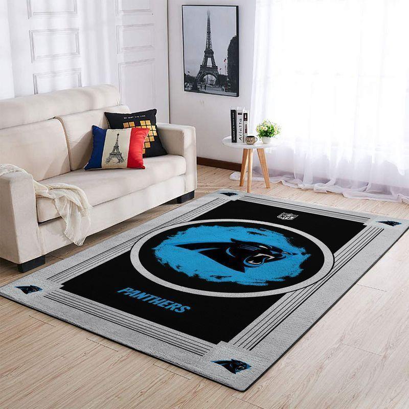 Amazon Carolina Panthers Living Room Area No2403 Rug