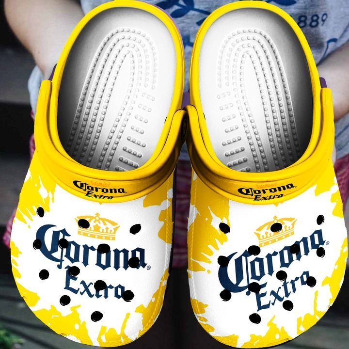 Amazon Corona Extra Beer Crocs Clog Shoes