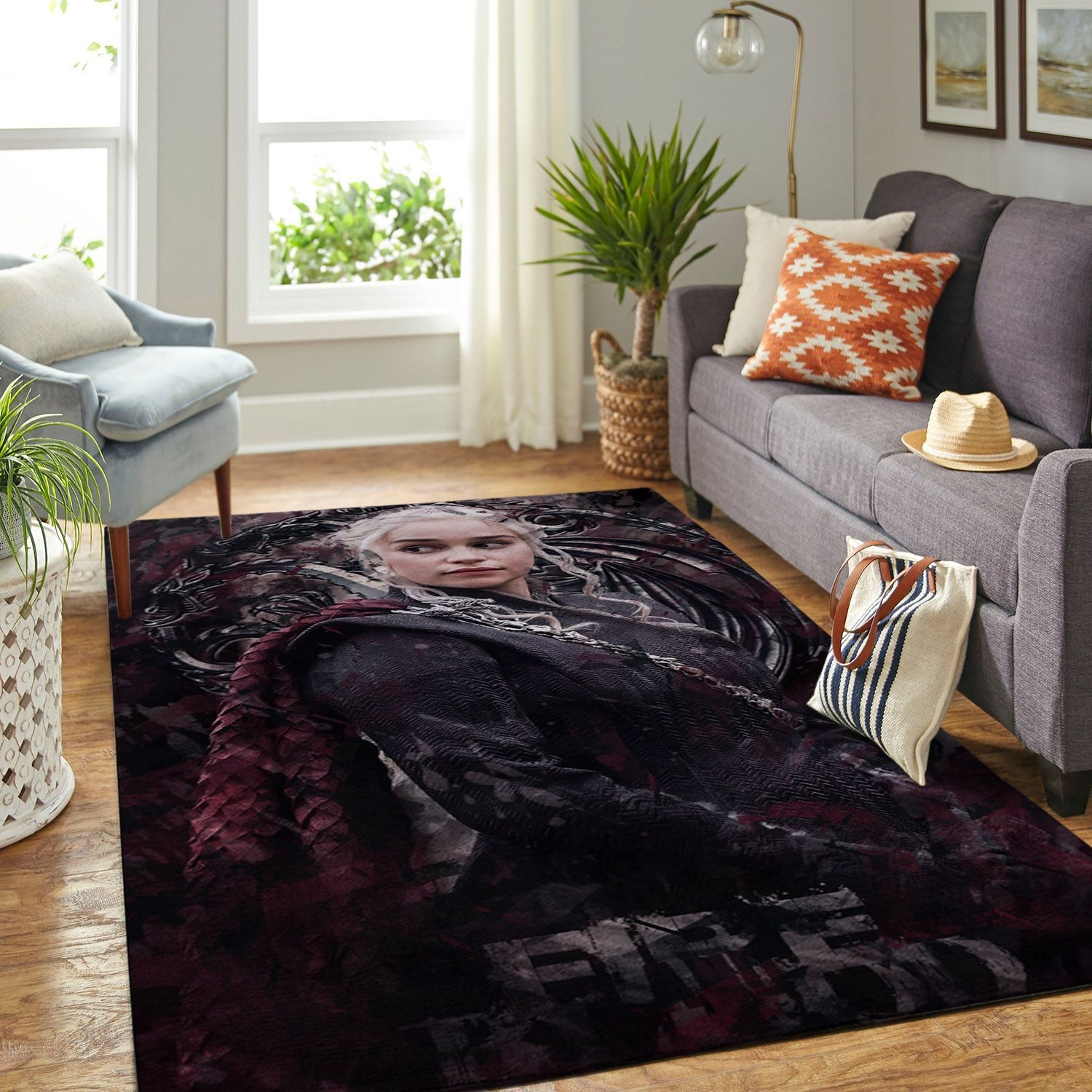 Amazon Game Of Thrones Living Room Area No6086 Rug