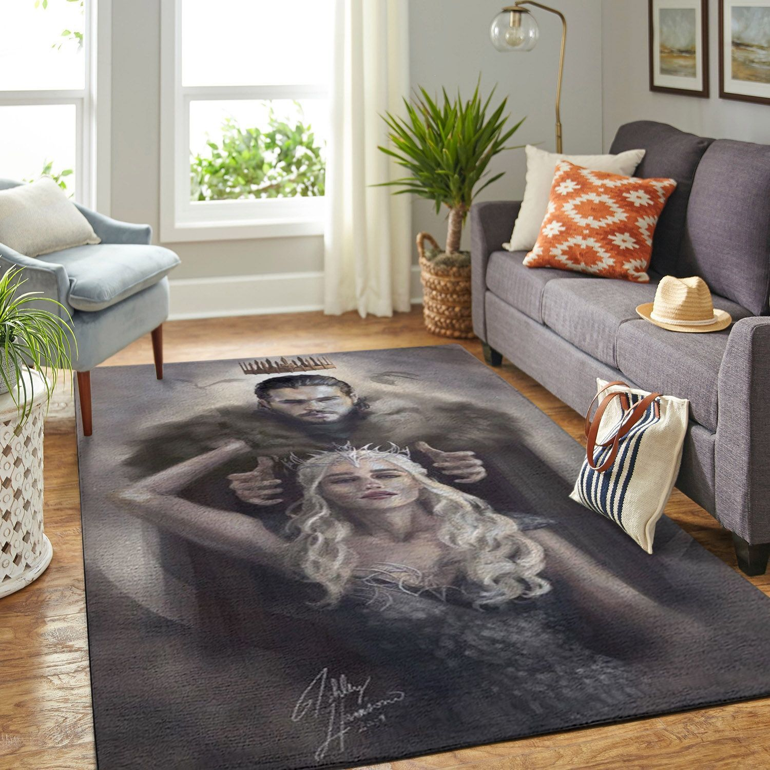 Amazon Game Of Thrones Living Room Area No6087 Rug
