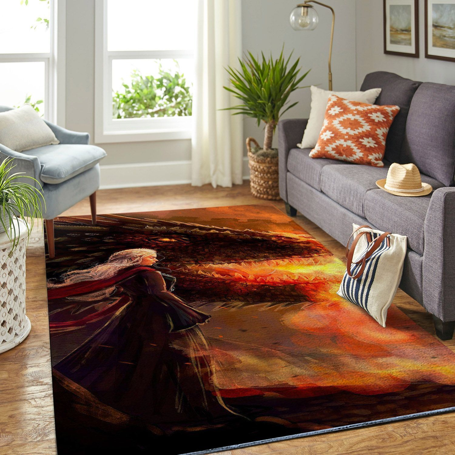 Amazon Game Of Thrones Living Room Area No6089 Rug