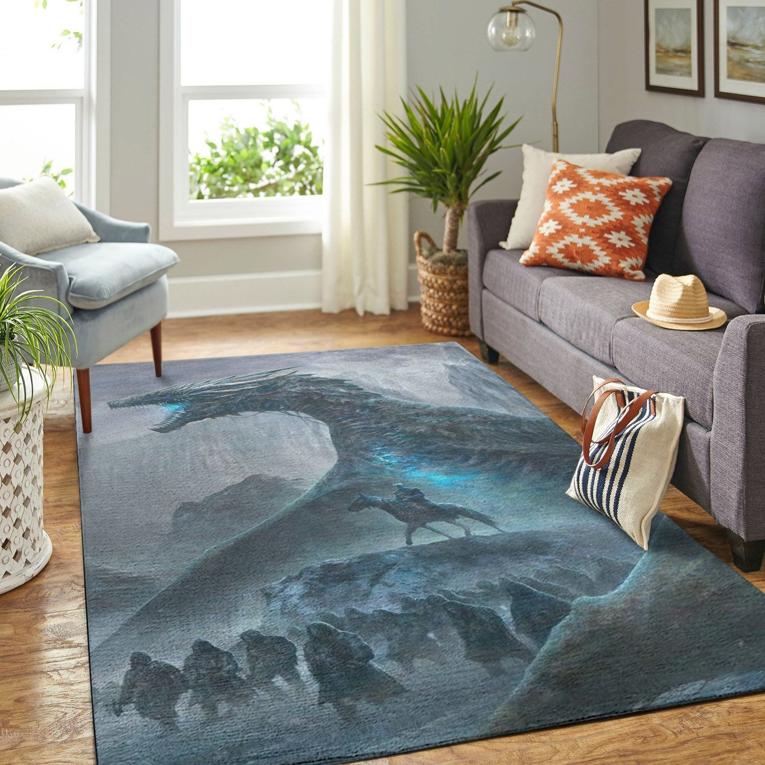 Amazon Game Of Thrones Living Room Area No6091 Rug