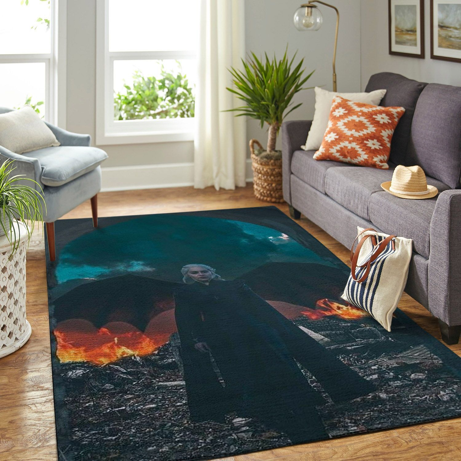 Amazon Game Of Thrones Living Room Area No6092 Rug