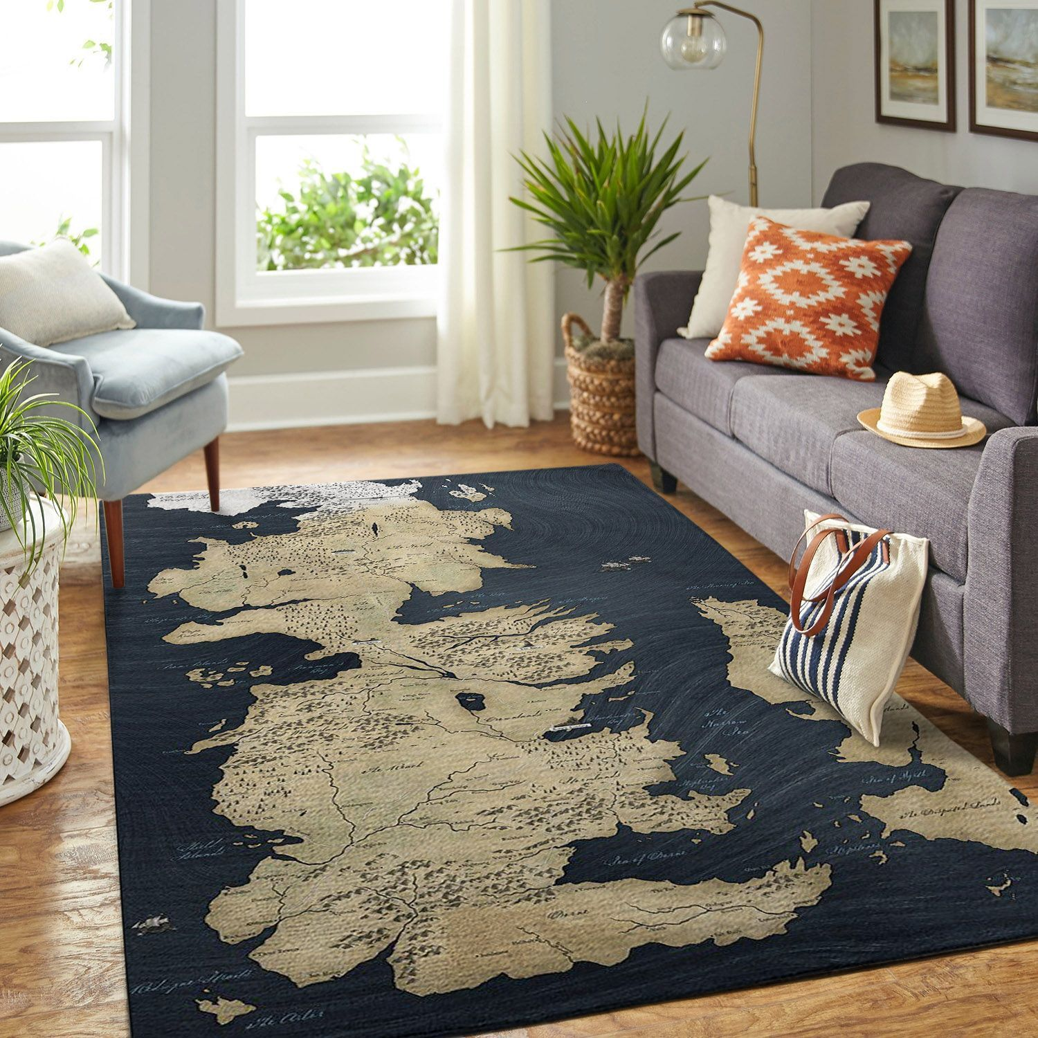 Amazon Game Of Thrones Living Room Area No6093 Rug