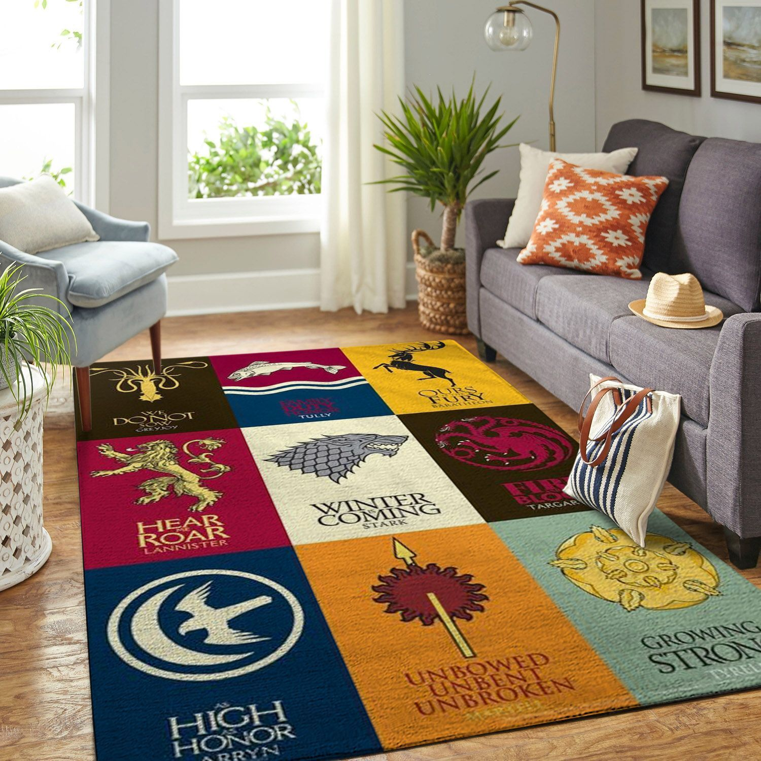 Amazon Game Of Thrones Living Room Area No6096 Rug