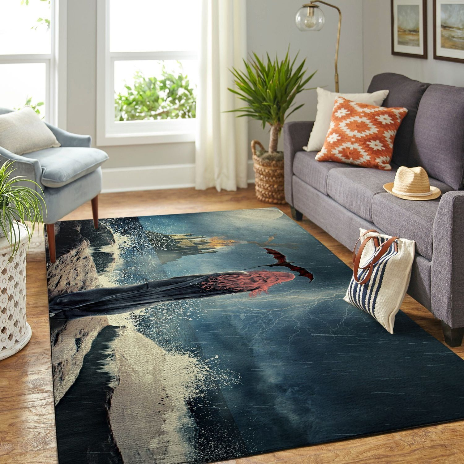 Amazon Game Of Thrones Living Room Area No6112 Rug